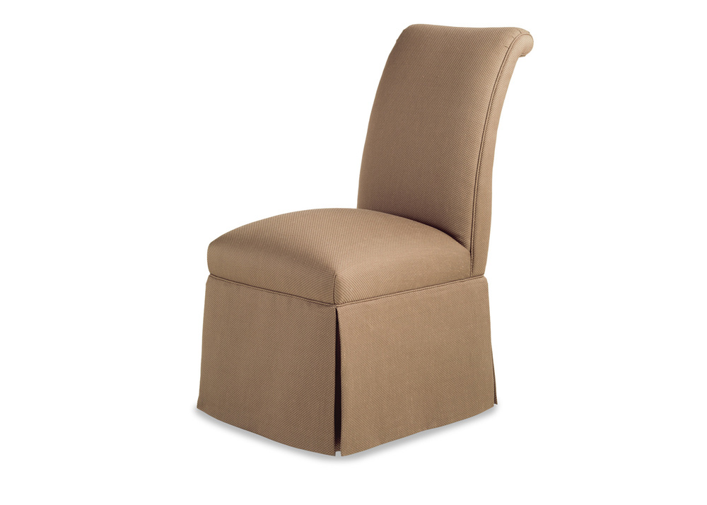 Jessica Charles - Sebastian Skirted Armless Chair