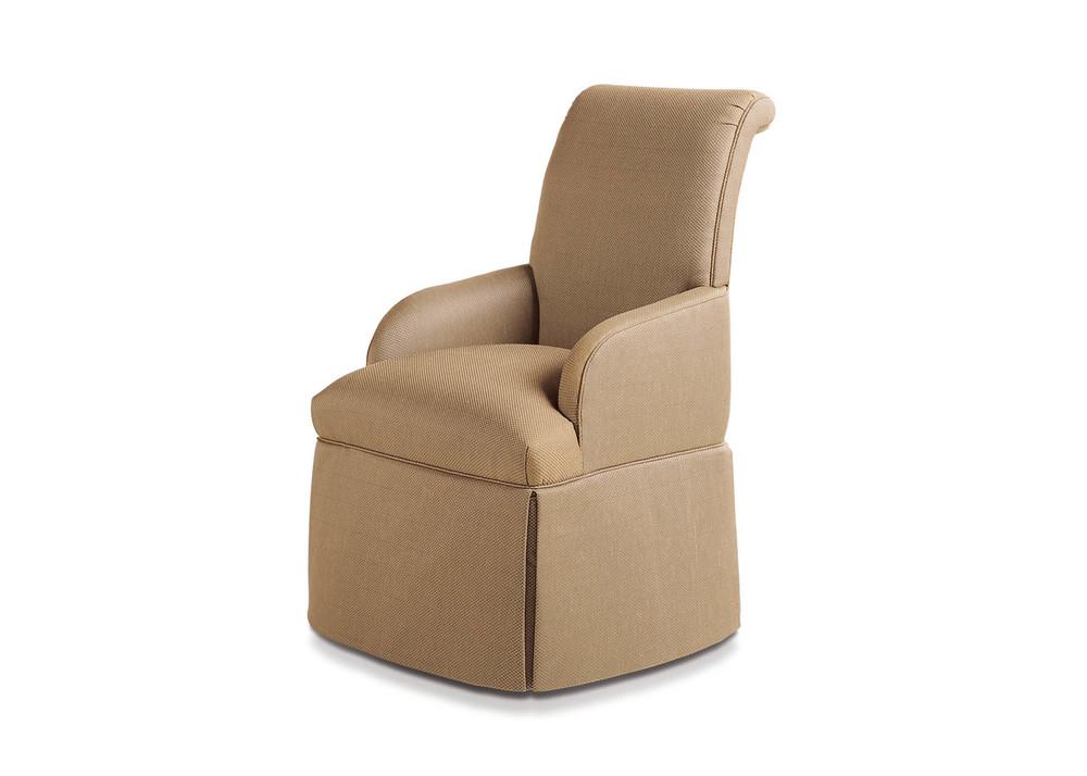 Jessica Charles - Sebastian Skirted Arm Chair
