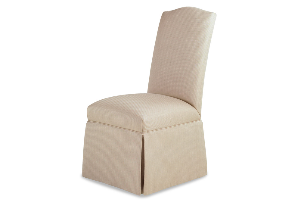 Jessica Charles - Petra Skirted Armless Chair