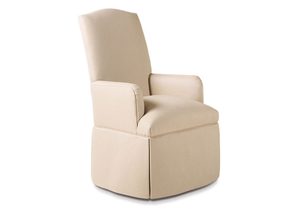 Jessica Charles - Petra Skirted Arm Chair