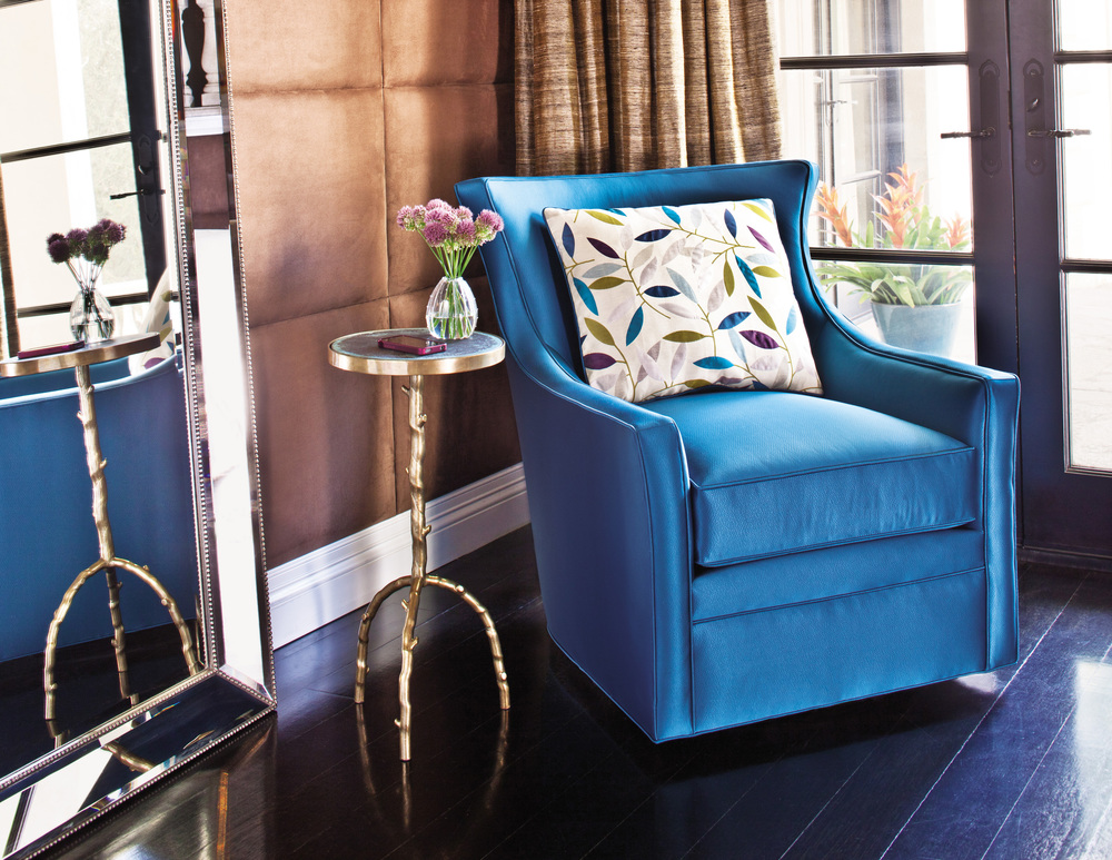 Jessica Charles - Delta Swivel Chair