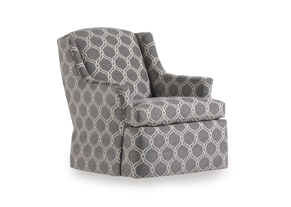 Jessica Charles - Cagney Tight Back Swivel Glider