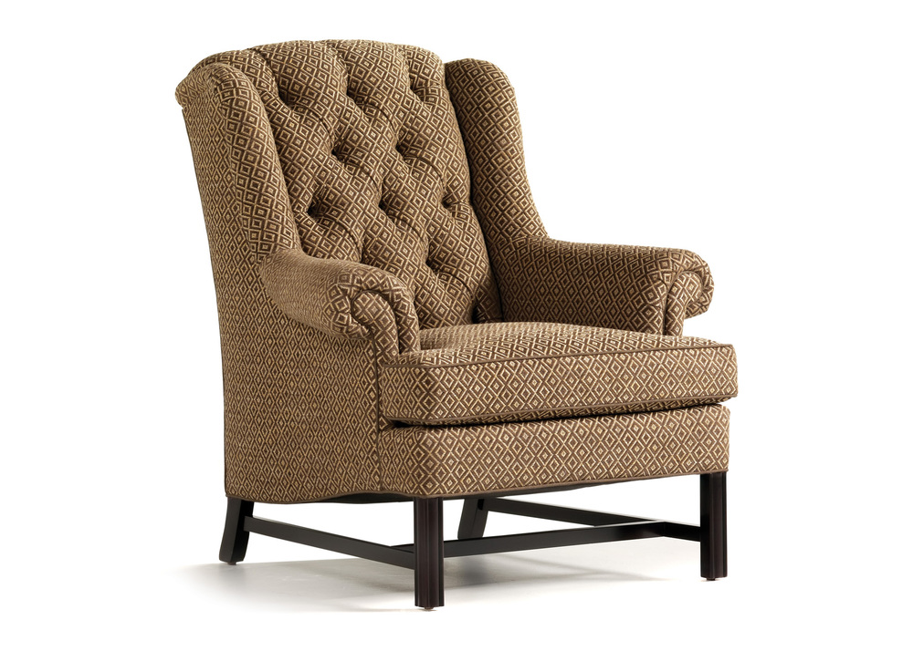 Jessica Charles - Alexander Tufted Wing Chair