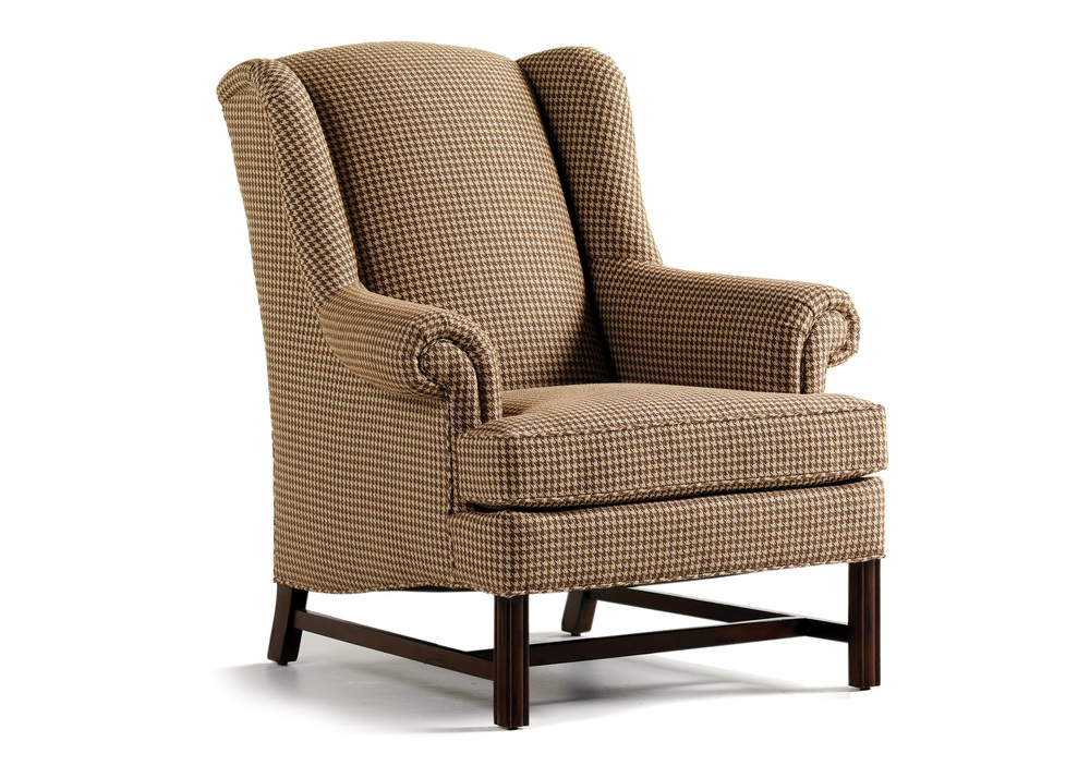 Jessica Charles - Alexander Tight Back Wing Chair