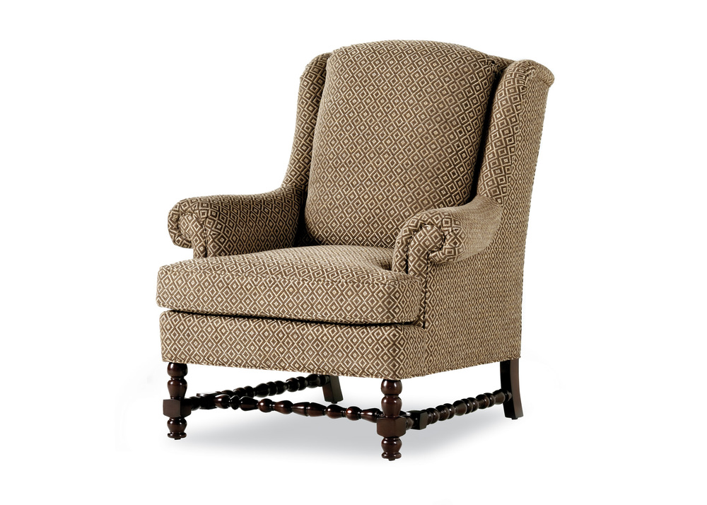 Jessica Charles - Ronson Pillow Back Wing Chair