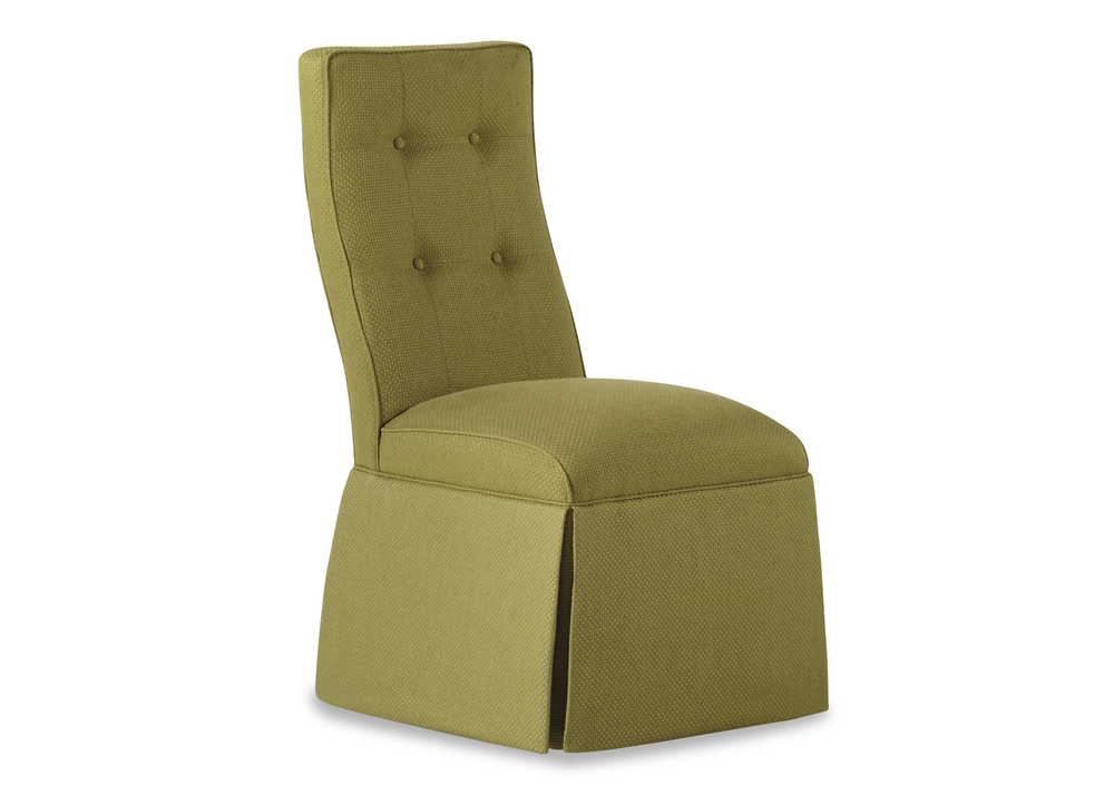 Jessica Charles - Baye Skirted Armless Chair