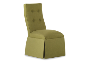 Thumbnail of Jessica Charles - Baye Skirted Armless Chair