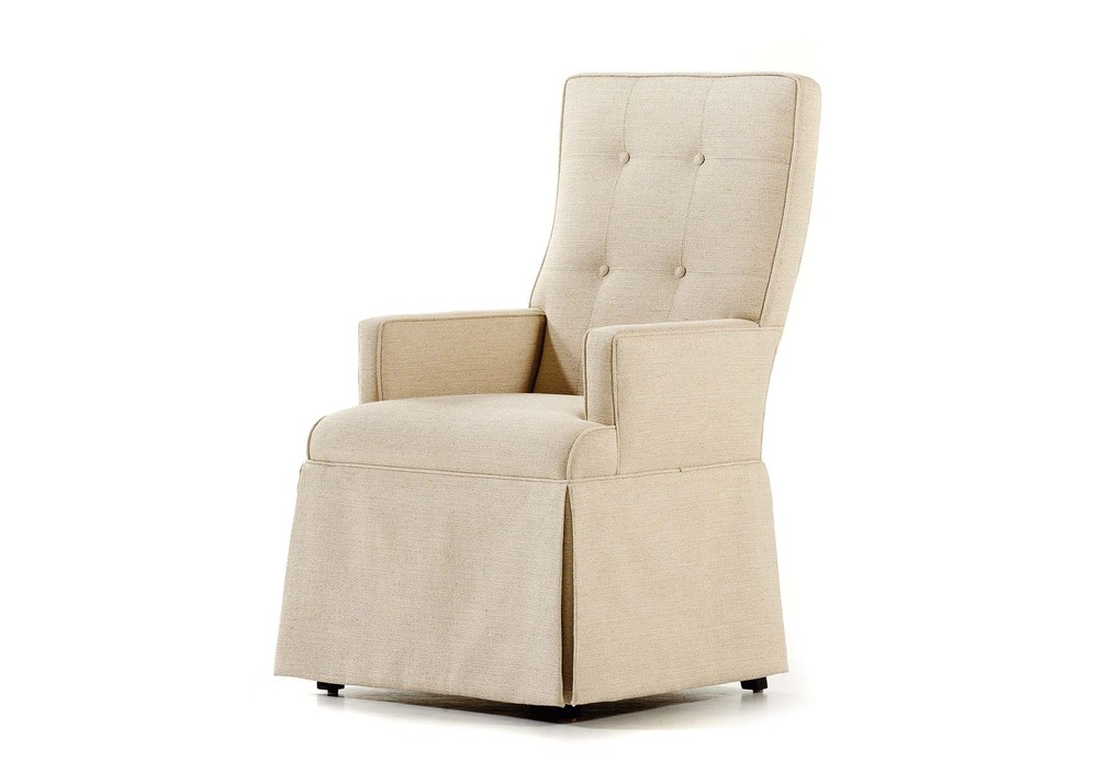 Jessica Charles - Baye Skirted Arm Chair
