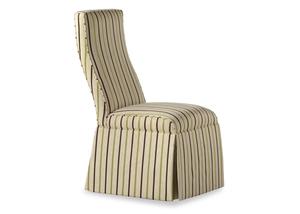 Thumbnail of Jessica Charles - Lahaye Skirted Armless Chair