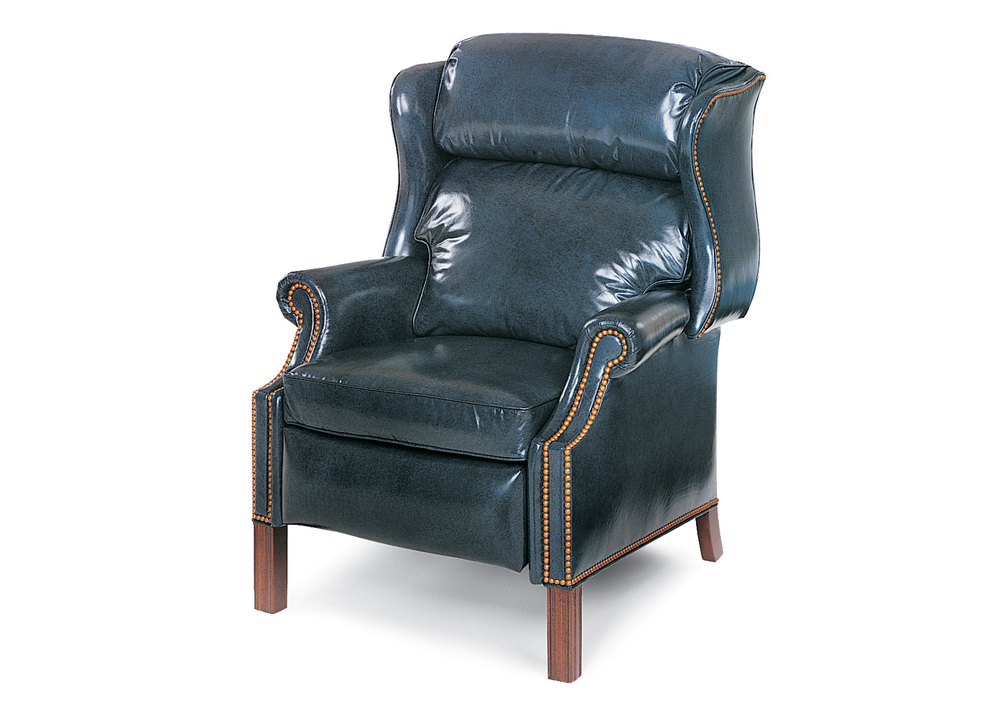 Hancock and Moore - Browning Back High Leg Recliner