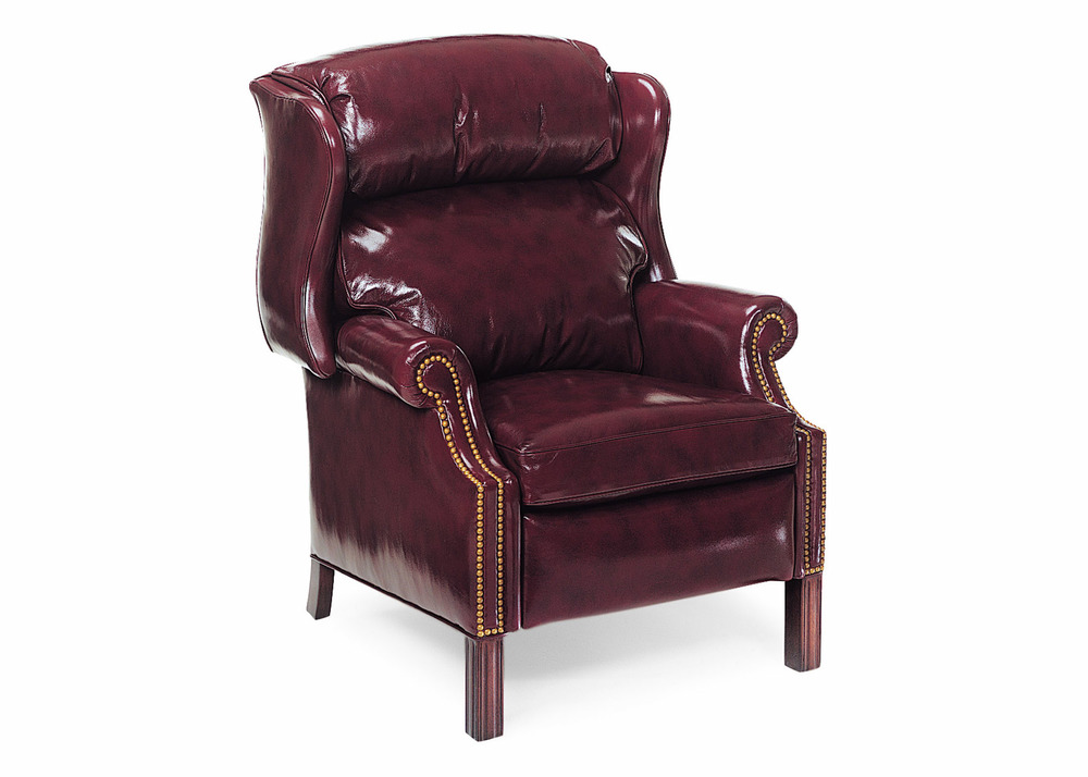 Hancock and Moore - Woodbridge Chippendale Wing Chair Recliner
