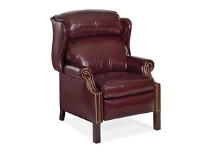 Thumbnail of Hancock and Moore - Woodbridge Chippendale Wing Chair Recliner