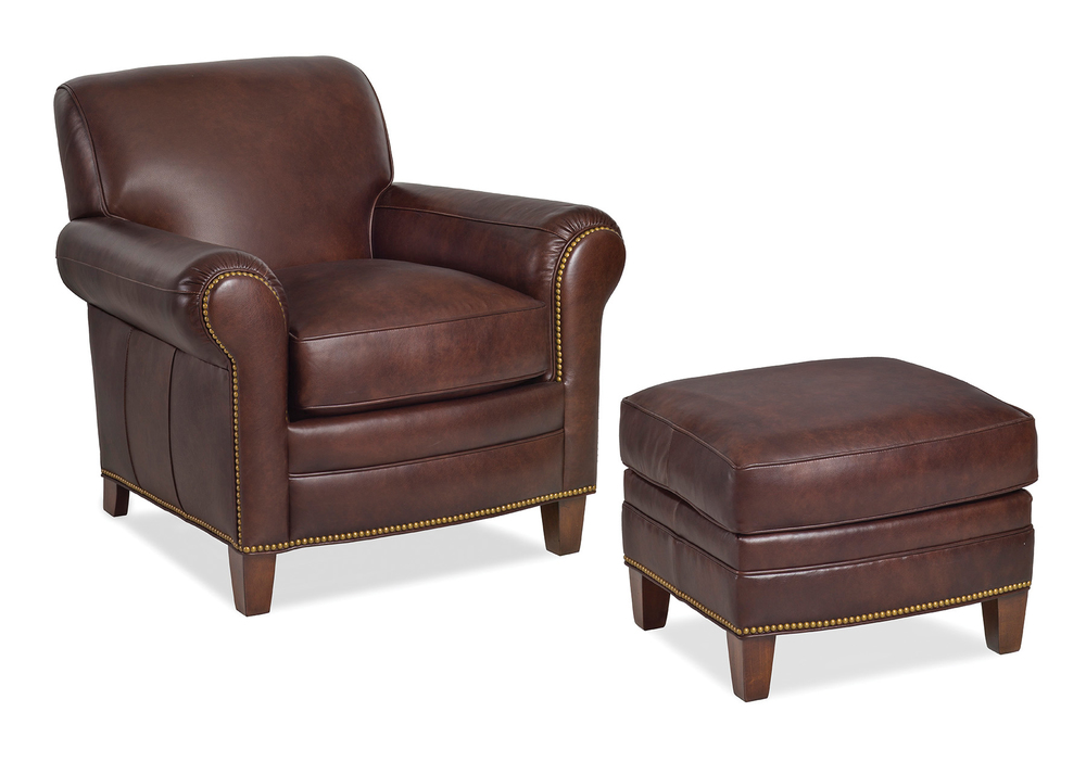 HANCOCK & MOORE - Meadows Chair and Ottoman