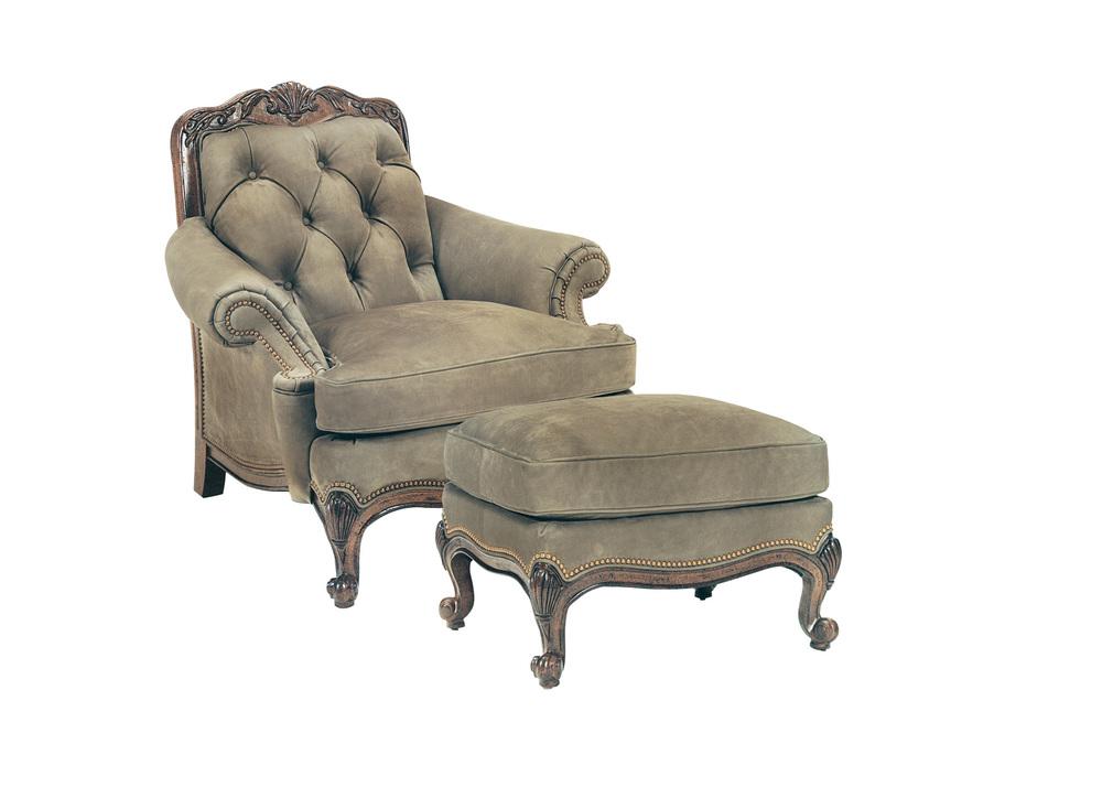 Hancock and Moore - Renoir Chair and Ottoman