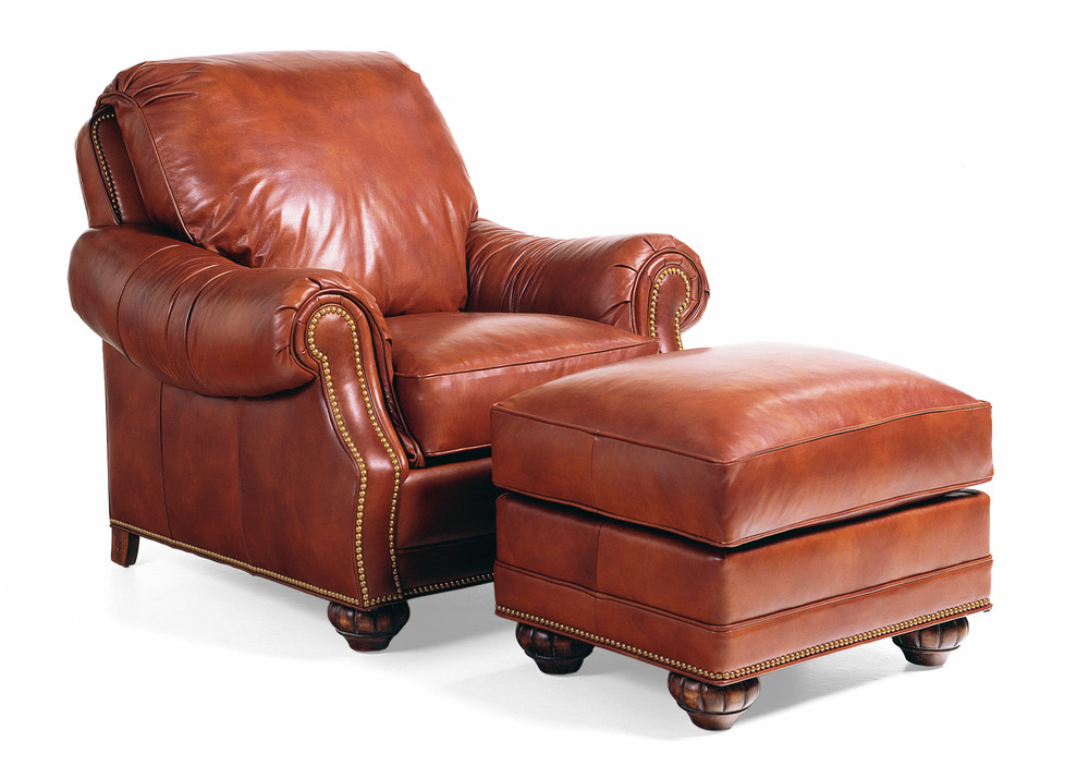 Hancock and Moore - Journey Chair and Ottoman
