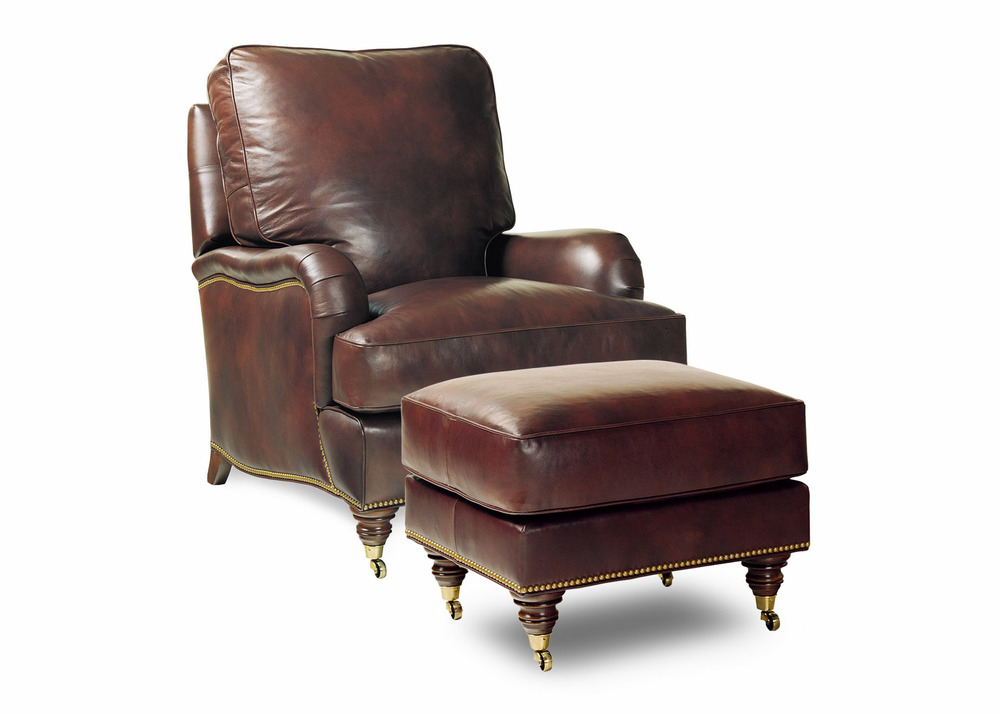 HANCOCK & MOORE - Bradley Tilt Back Chair and Ottoman