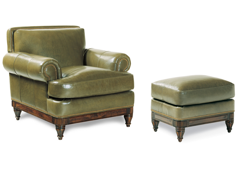 Hancock and Moore - Robinson Chair and Ottoman