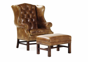 Thumbnail of Hancock and Moore - East Bay Chair and Ottoman