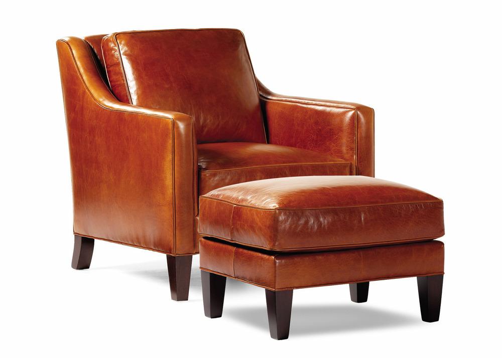 Hancock and Moore - Donovan Chair and Ottoman