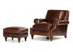 Thumbnail of Hancock and Moore - West End Chair and Ottoman