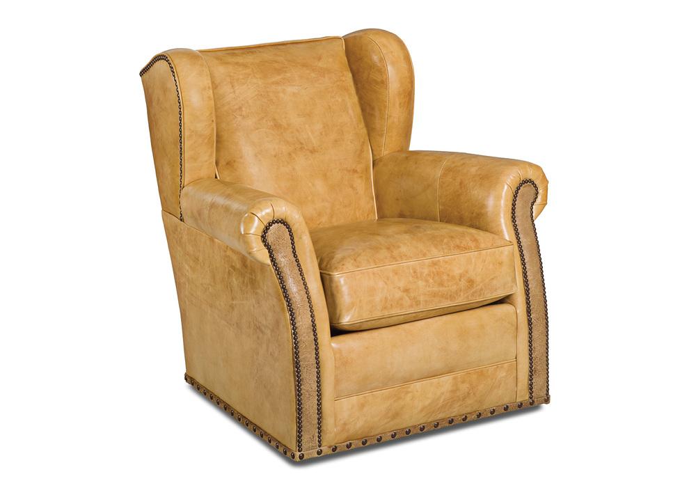 Hancock and Moore - Poet Swivel Chair