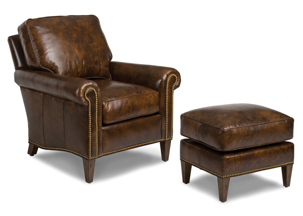 Hancock and Moore - Reserve Chair and Ottoman
