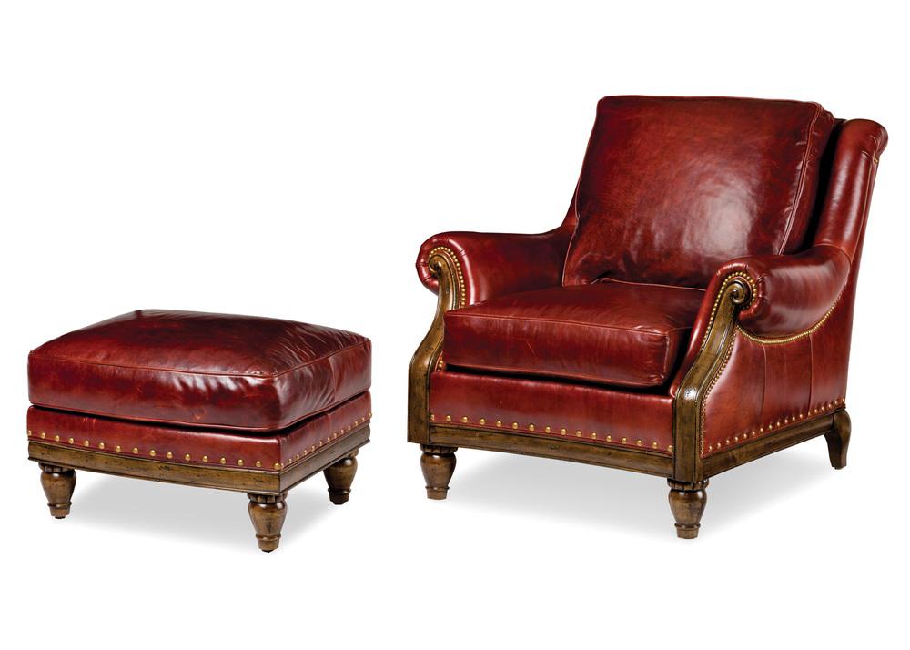 Hancock and Moore - Yellowstone Chair and Ottoman