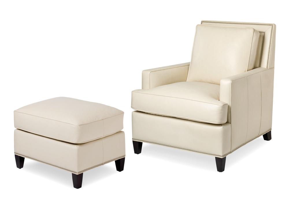 HANCOCK & MOORE - Arrington Chair and Ottoman