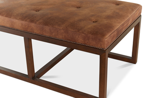 Thumbnail of Hancock and Moore - Cole Cocktail Ottoman