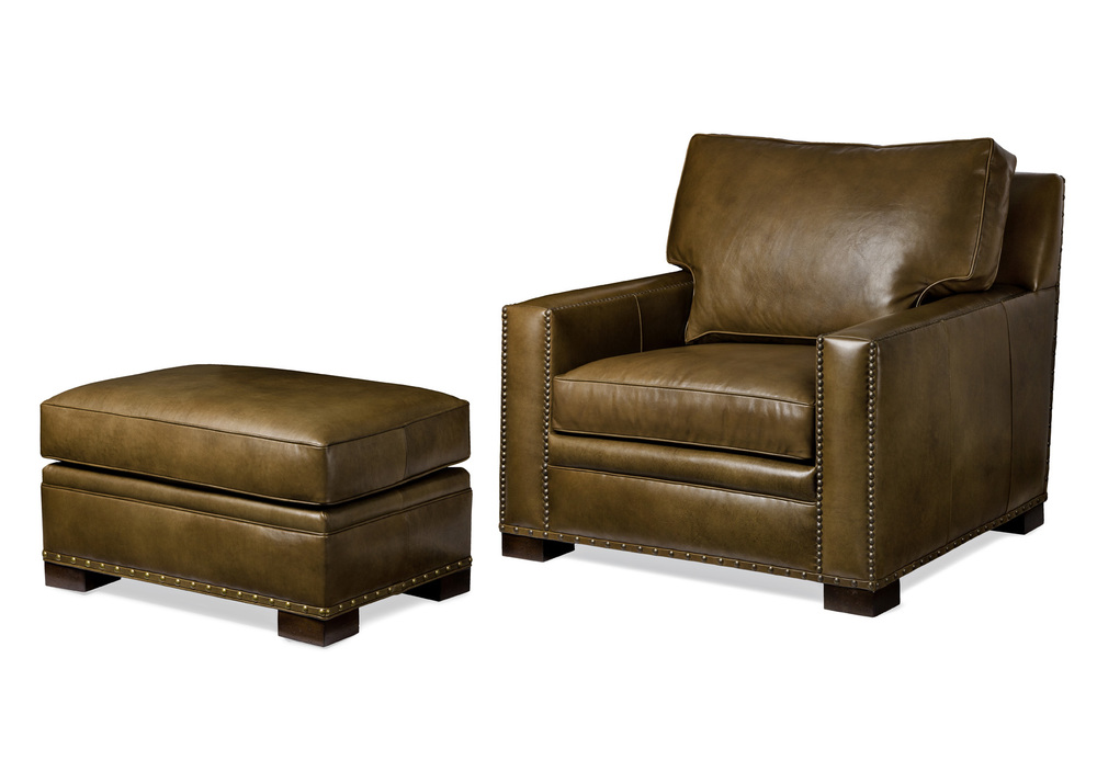 HANCOCK & MOORE - Emilio Chair and Ottoman