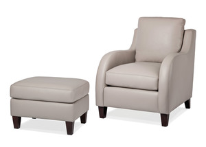 Thumbnail of Hancock and Moore - Scoop Chair and Ottoman