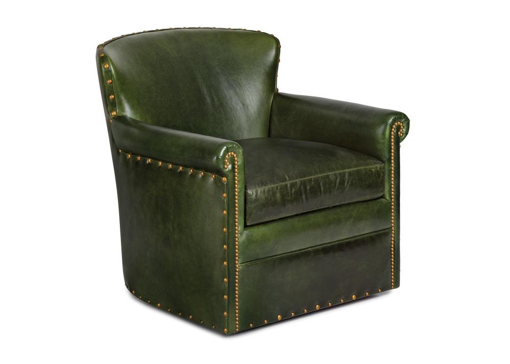 Hancock and Moore - Traveler's Swivel Chair