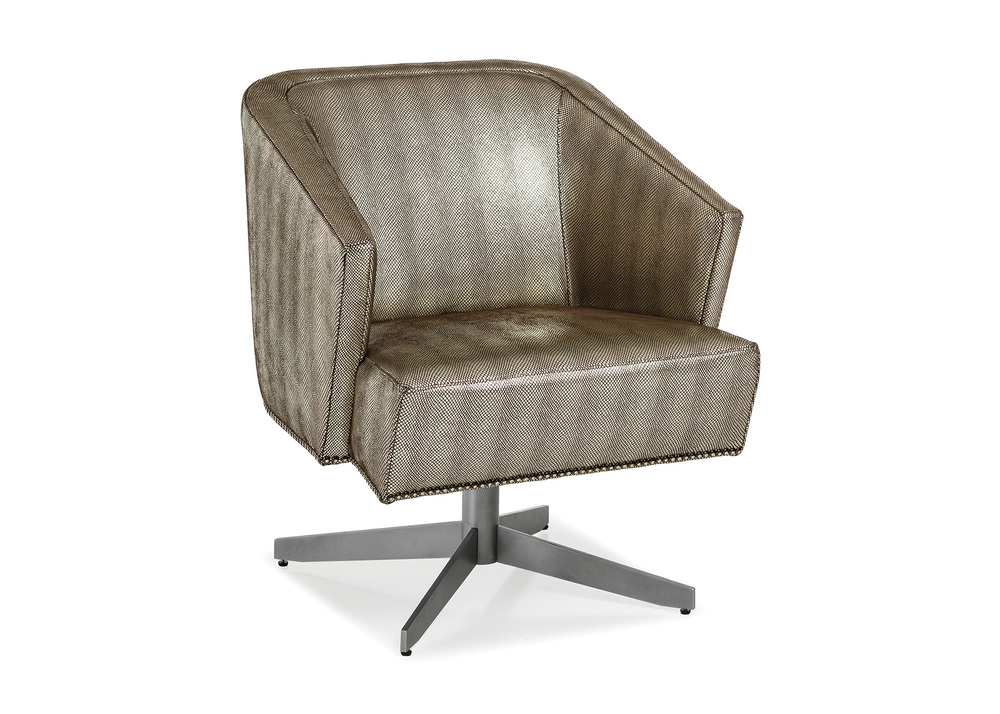 Hancock and Moore - Twist Lounge with Metal Legs
