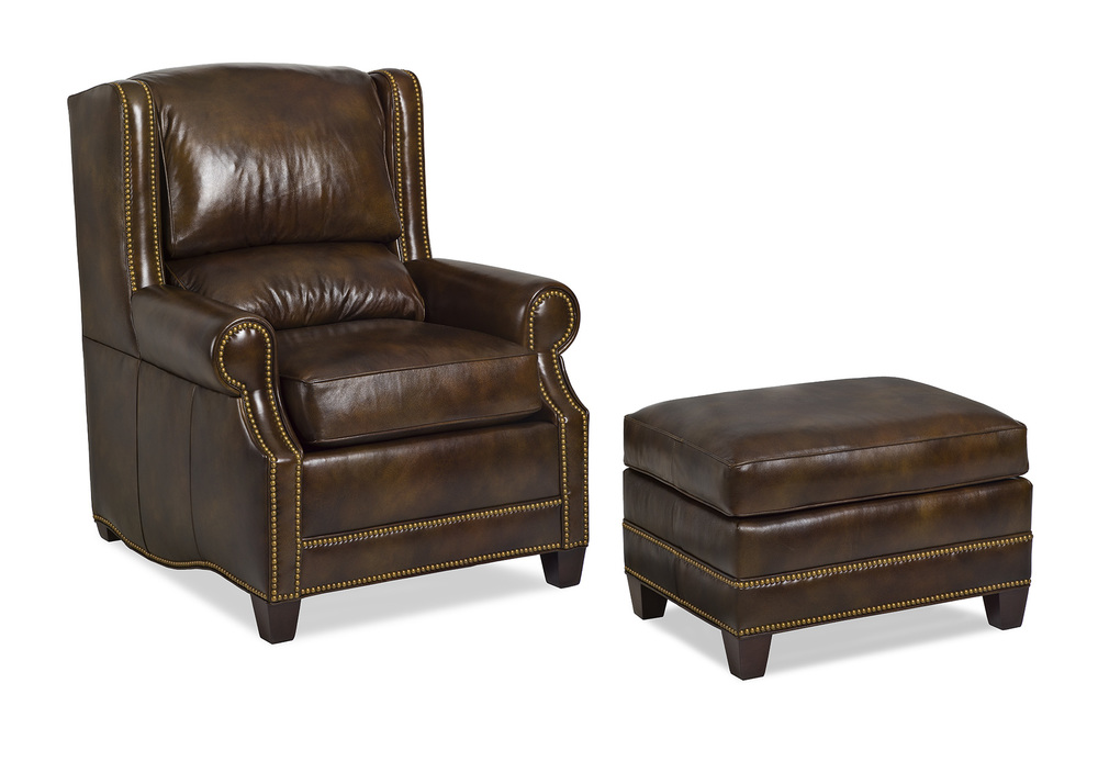 HANCOCK & MOORE - Epic Chair and Ottoman