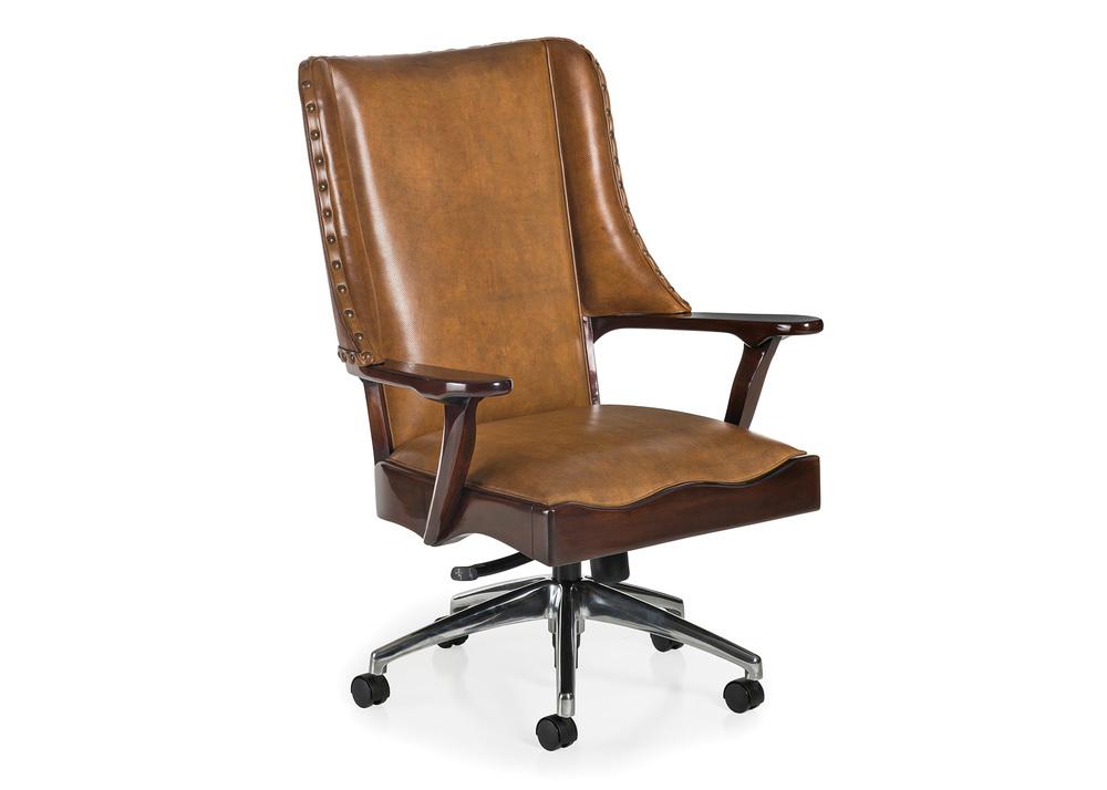 Hancock and Moore - Braiding Swivel Tilt Chair