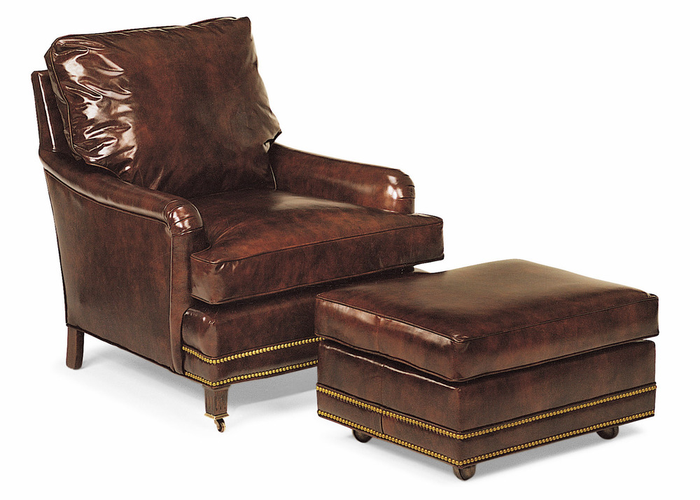 HANCOCK & MOORE - Bishop Reading Chair and Ottoman