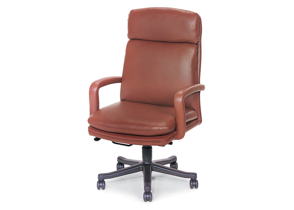 Hancock and Moore - Marquis High Back Open Arm Swivel Tilt Chair