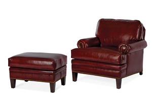 Thumbnail of Hancock and Moore - Adair Chair and Ottoman