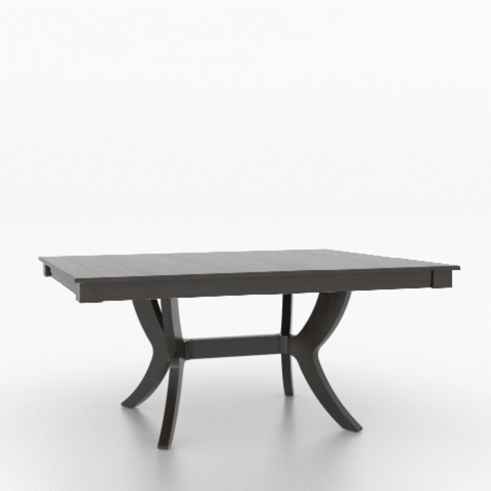 Canadel - Core Wood Top Dining Table 4868
