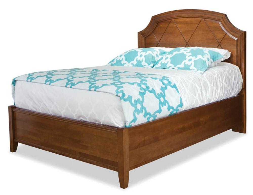 Durham Furniture - Terrace Panel Bed, Queen