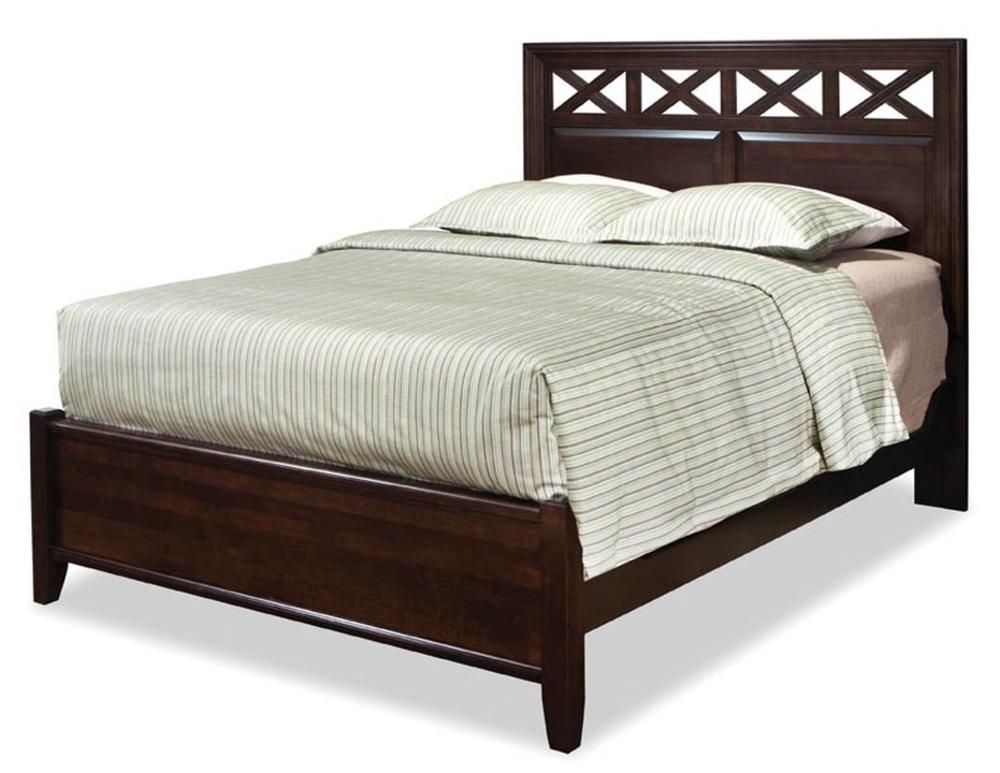 Durham Furniture - Glen Panel Bed, King