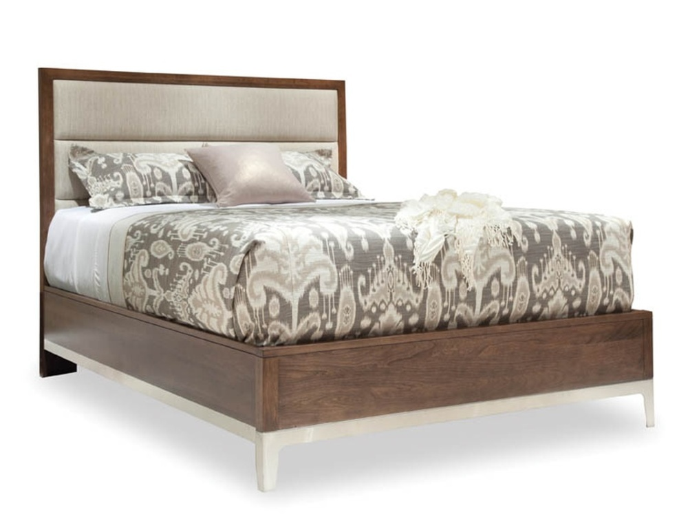 Durham Furniture - Upholstered Bed, Queen