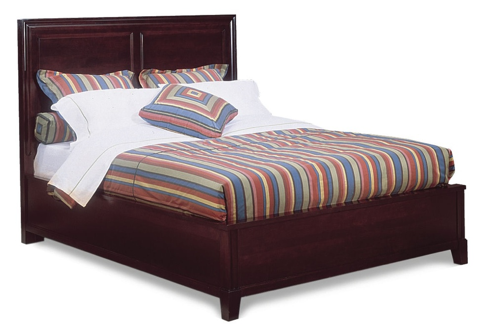 Durham Furniture - Panel Bed, Queen