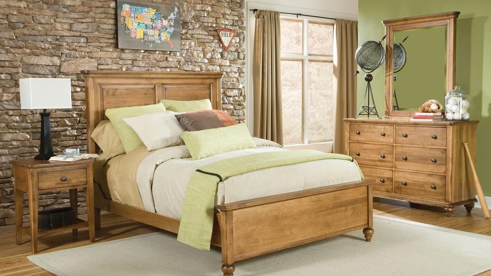 Durham Furniture - Millcroft Panel Bed