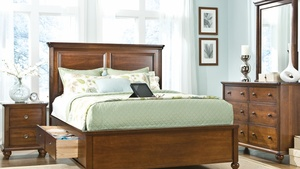 Thumbnail of Durham Furniture - Southbrook Panel Bed with Storage