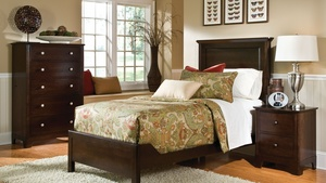 Thumbnail of Durham Furniture - Montgomery Panel Bed, Twin