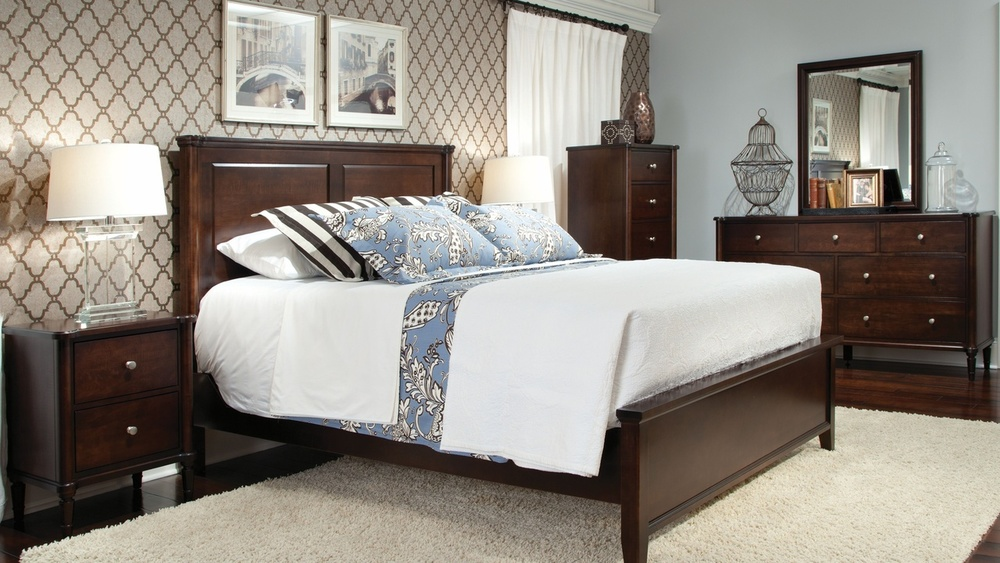 Durham Furniture - Highbury Panel Bed