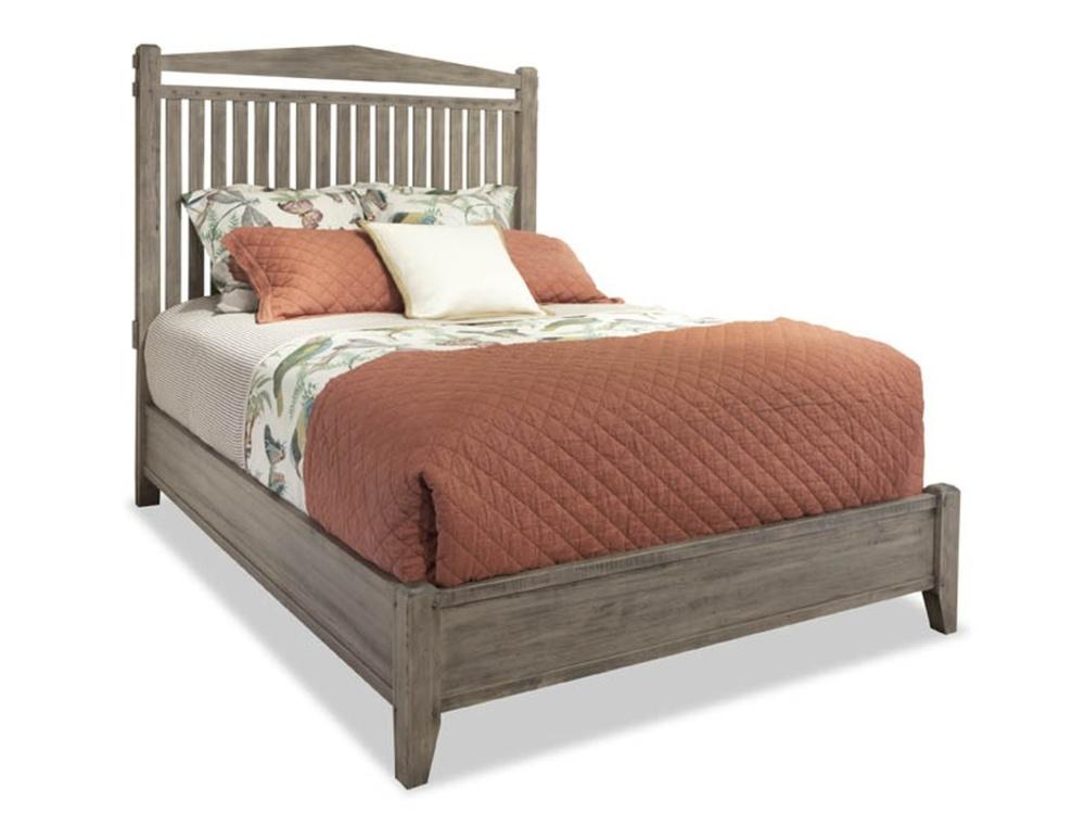 Durham Furniture - Slat Bed, Queen