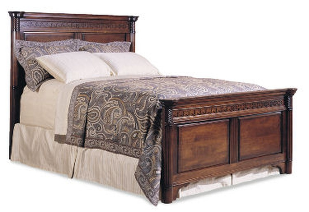 Durham Furniture - Mansion Bed, Queen