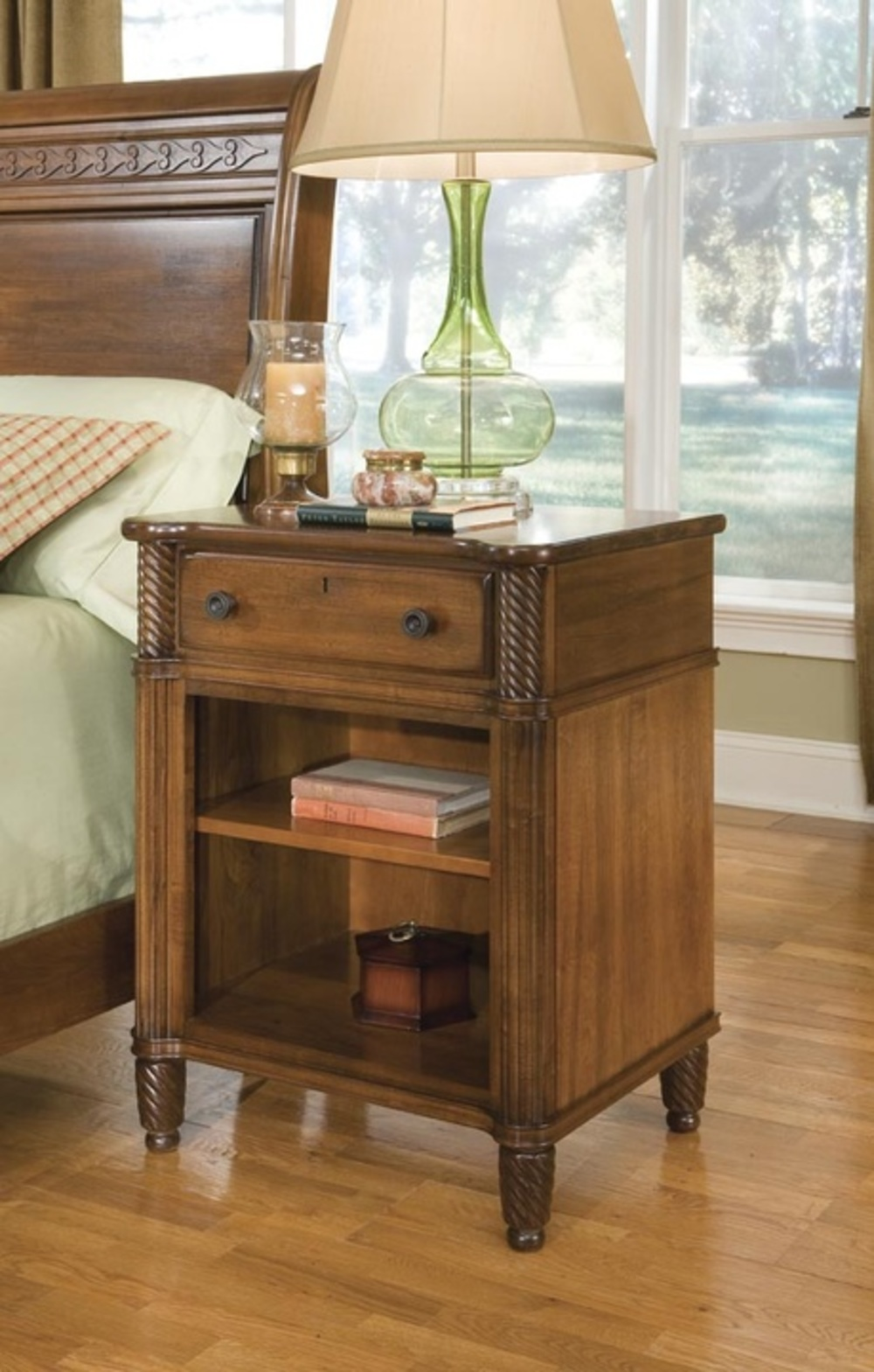 Durham Furniture - Open Night Stand